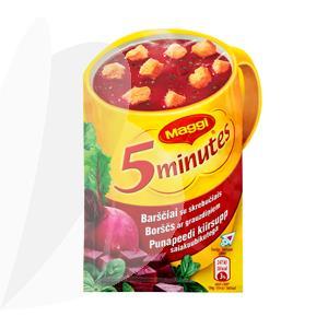 Užpilama barščių sriuba su skrebučiais MAGGI, 16 g