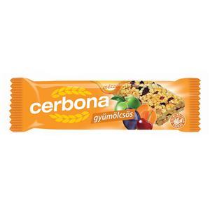 Javainių batonėlis CERBONA Fruity, 20 g