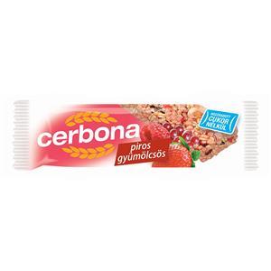 Javainių batonėlis CERBONA Red fruits, 20 g