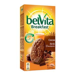 Sausainiai BELVITA, su šokoladu, 300 g