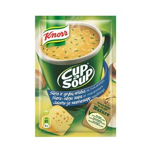 Sūrio ir grybų sriuba KNORR, 17 g