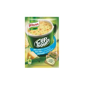 Sūrio sriuba KNORR, su skrebučiais, 22 g