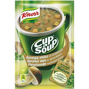 Baravykų sriuba KNORR, tiršta, tirpi, 16 g