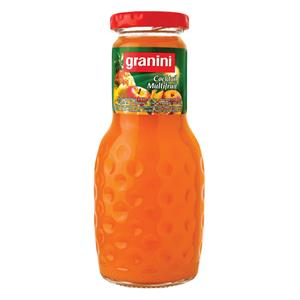 Multivitaminų nektaras GRANINI, 0.25L, stiklinis butelis D