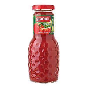 Pomidorų sultys GRANINI, 0.25L, stiklinis butelis D