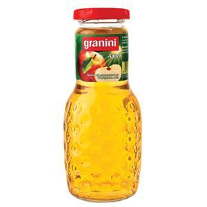 Obuolių sultys GRANINI, 0.25 L, stiklinis butelis D