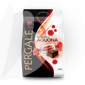 Šokoladiniai saldainiai PERGALĖ RAUDONOJI AGUONA, 225 g