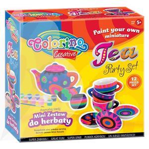 Kūrybos rinkinys COLORINO Tea party set
