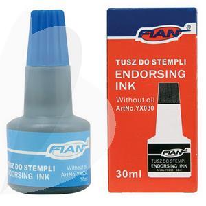 Tušas antspaudams FIAN 30 ml, mėlyna