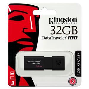 Atmintinė USB 3.0 KINGSTON DT100G3, 32GB
