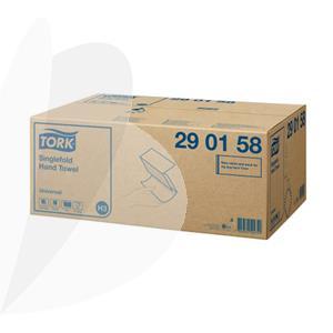 Rankų valymo servetėlės TORK UNIVERSAL, Zigzag, 290158, H3, 1 sl., 300 serv., 23 x 23 cm, balta sp.