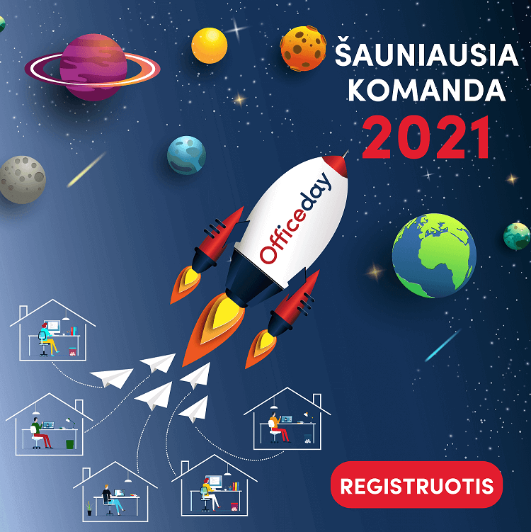 Šauniausia komanda 2021 - registracija - POP UP