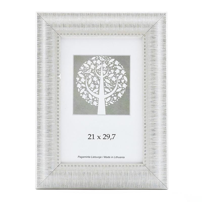 Officeday   Photo frame, plastic, A4, 21x29,7 cm, white, wide frame ...