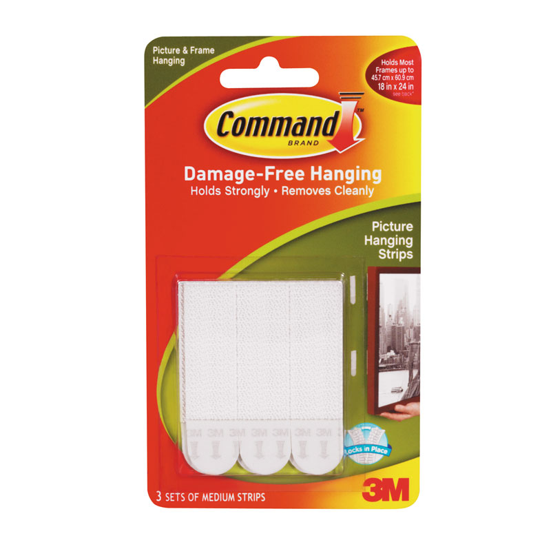 Officeday 3m Command Picture Hanging Strips Medium